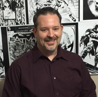 Rob Hunter Comic book artist with DC Comics.