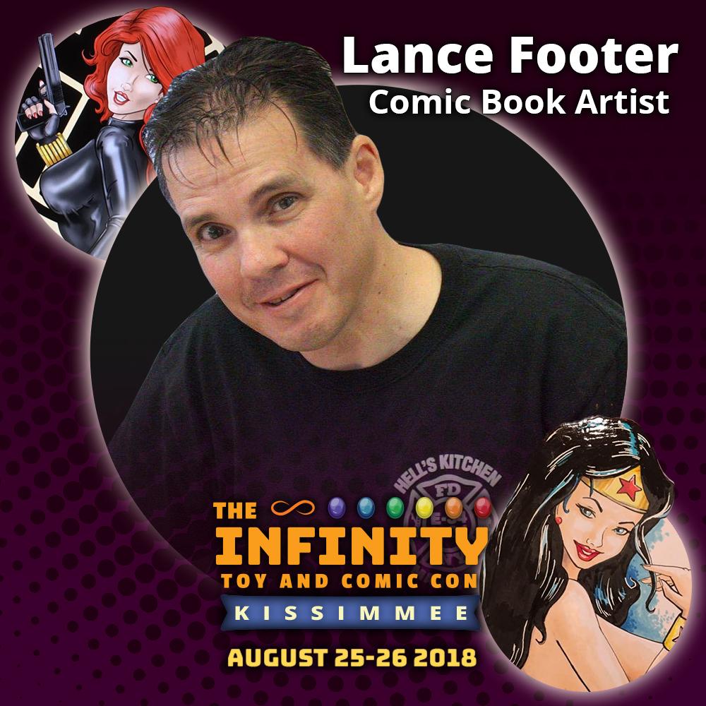Lance Footer : Comic Book Artist