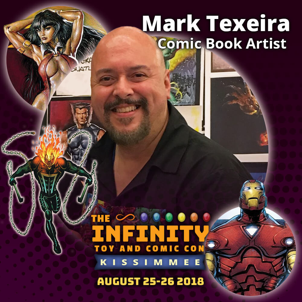 Mark Texeira : Comic Book Artist