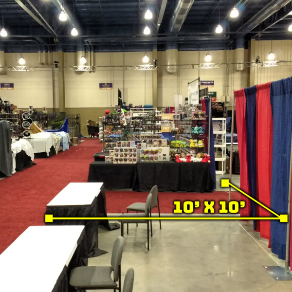10 x10 booth