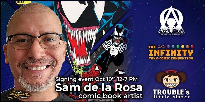 Sam de la Rosa Signing Event