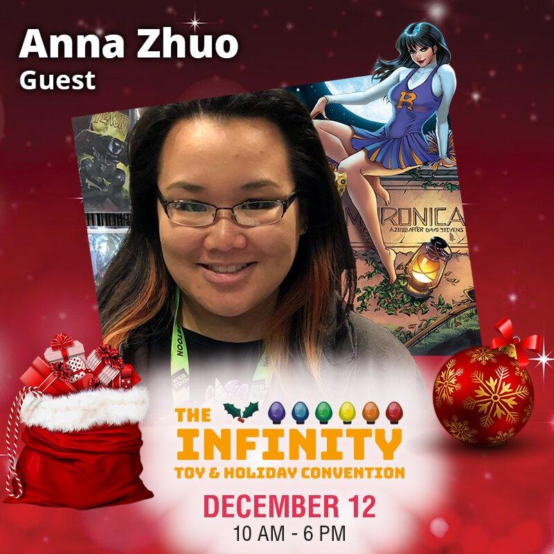 Anna Zhou Comic Book Artist