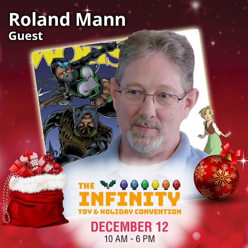 Comicbook Artist Roland Mann